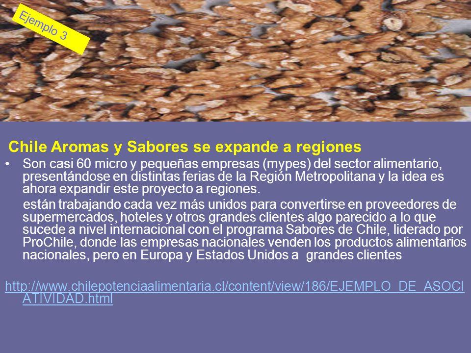 Chile Aromas y Sabores se expande a regiones