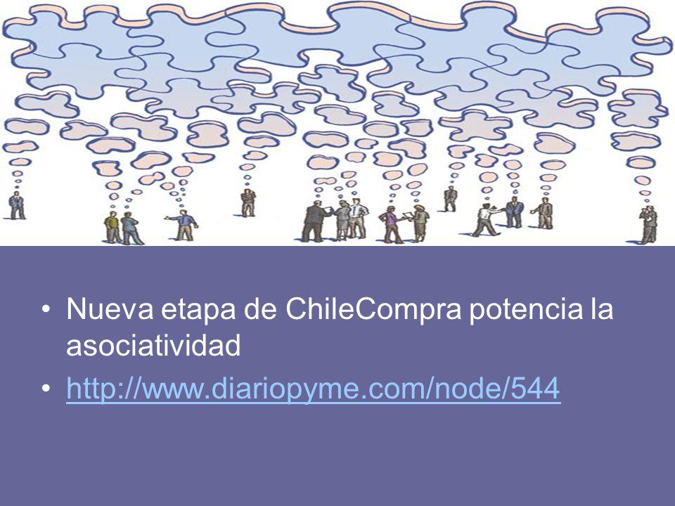 Nueva etapa de ChileCompra potencia la asociatividad