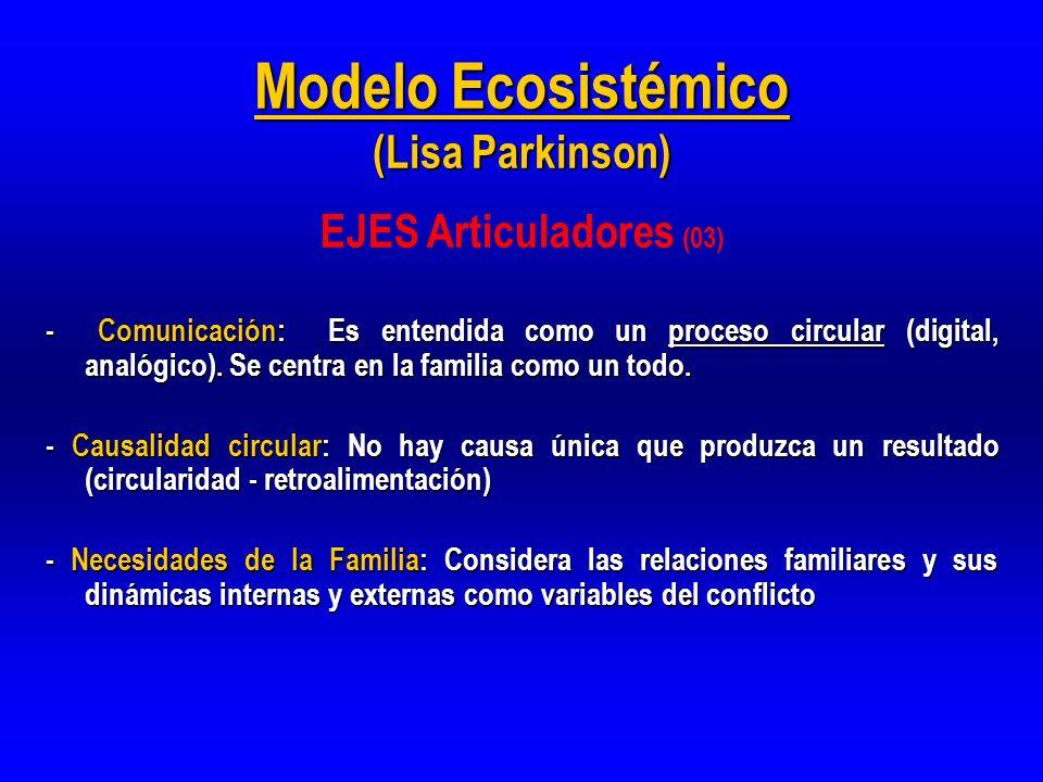 Modelo Ecosistémico (Lisa Parkinson)