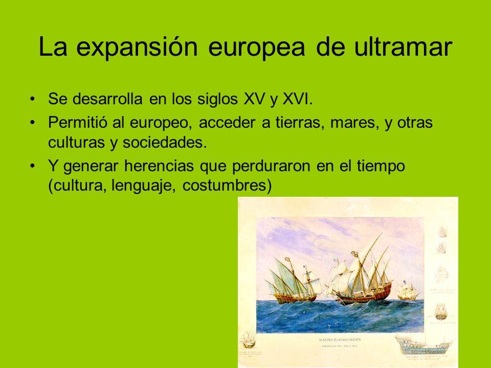 La expansión europea de ultramar