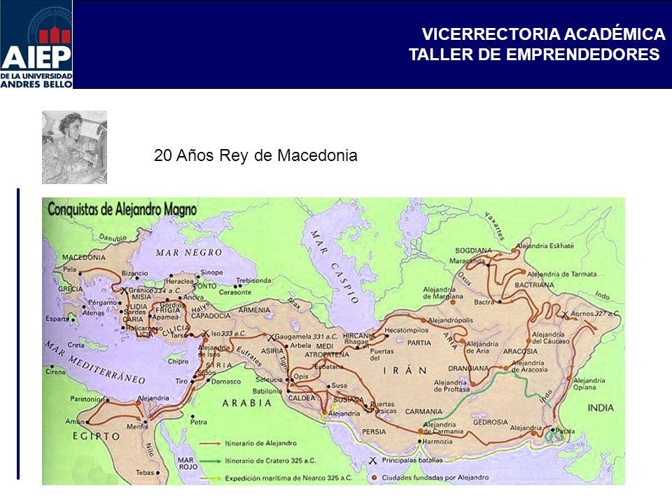 20 Años Rey de Macedonia