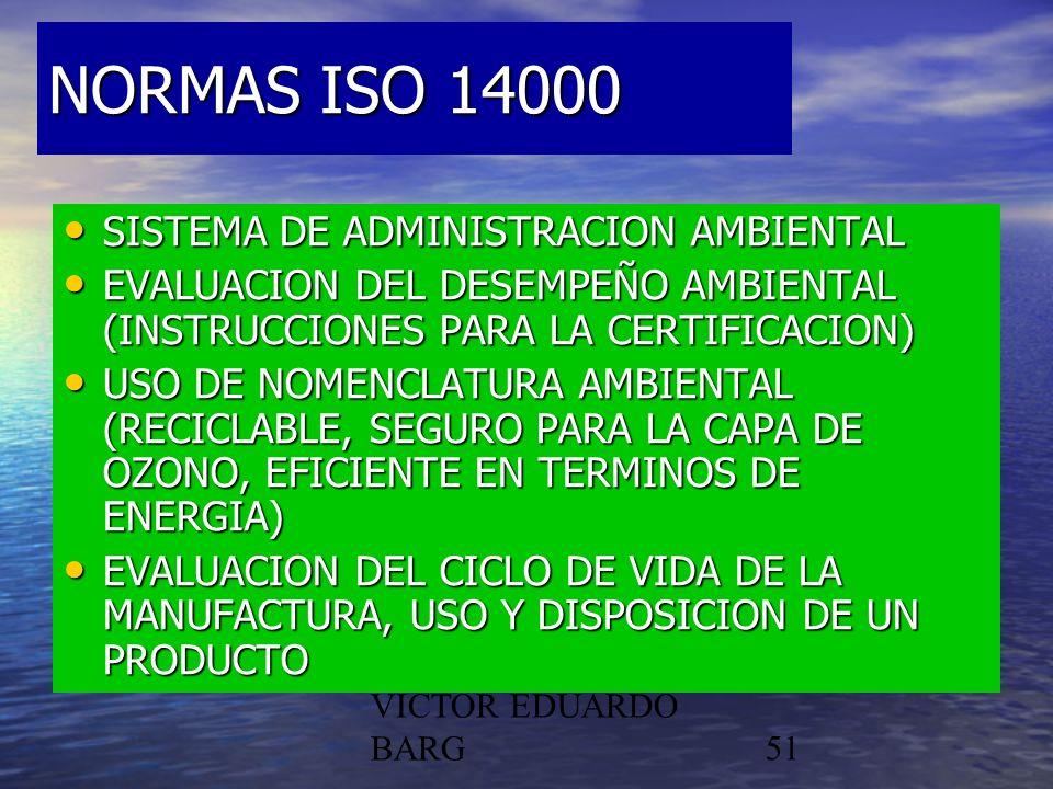 NORMAS ISO 14000 SISTEMA DE ADMINISTRACION AMBIENTAL
