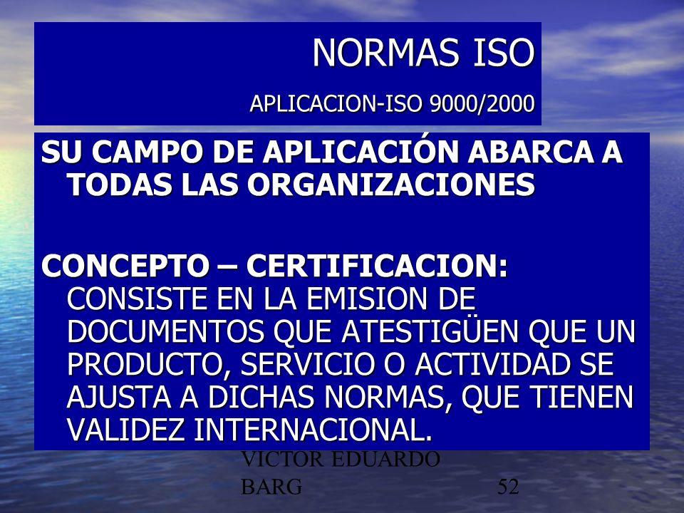 NORMAS ISO APLICACION-ISO 9000/2000