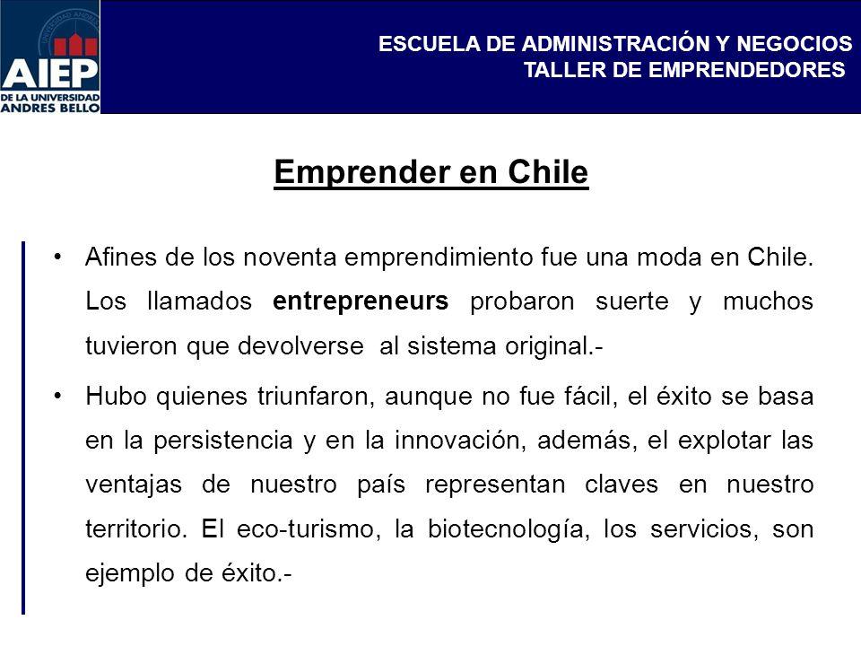 Emprender en Chile