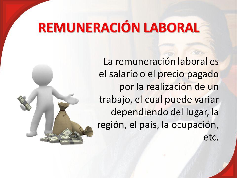 REMUNERACIÓN LABORAL