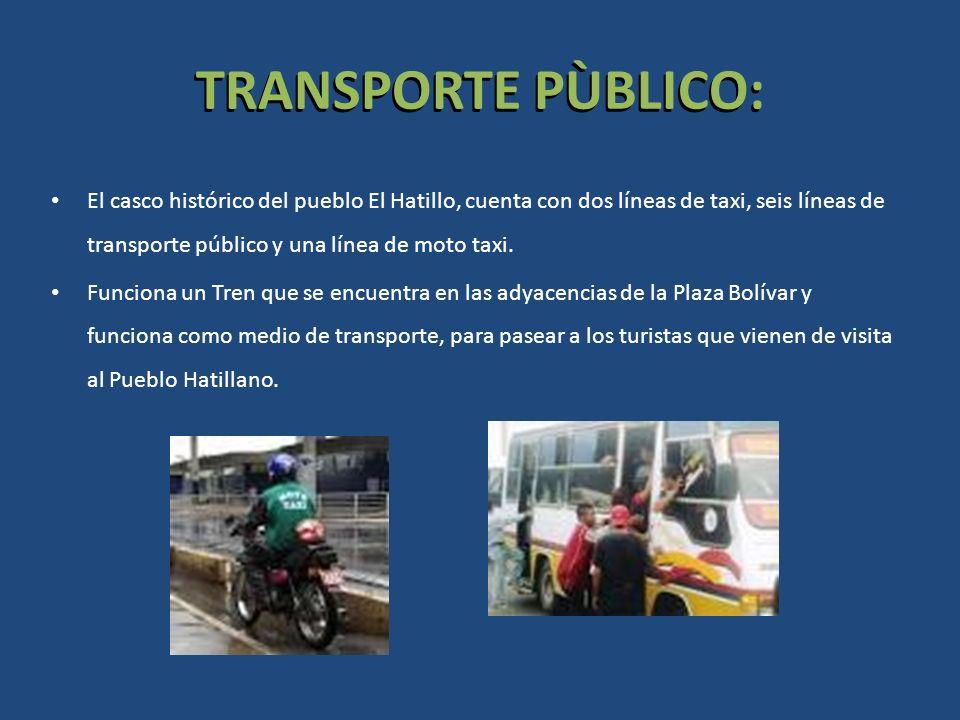 TRANSPORTE PÙBLICO: