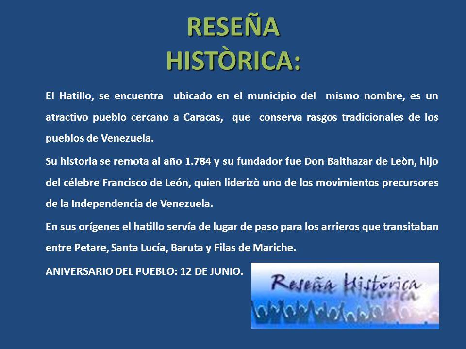 RESEÑA HISTÒRICA: