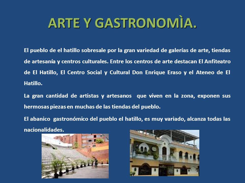 ARTE Y GASTRONOMÌA.
