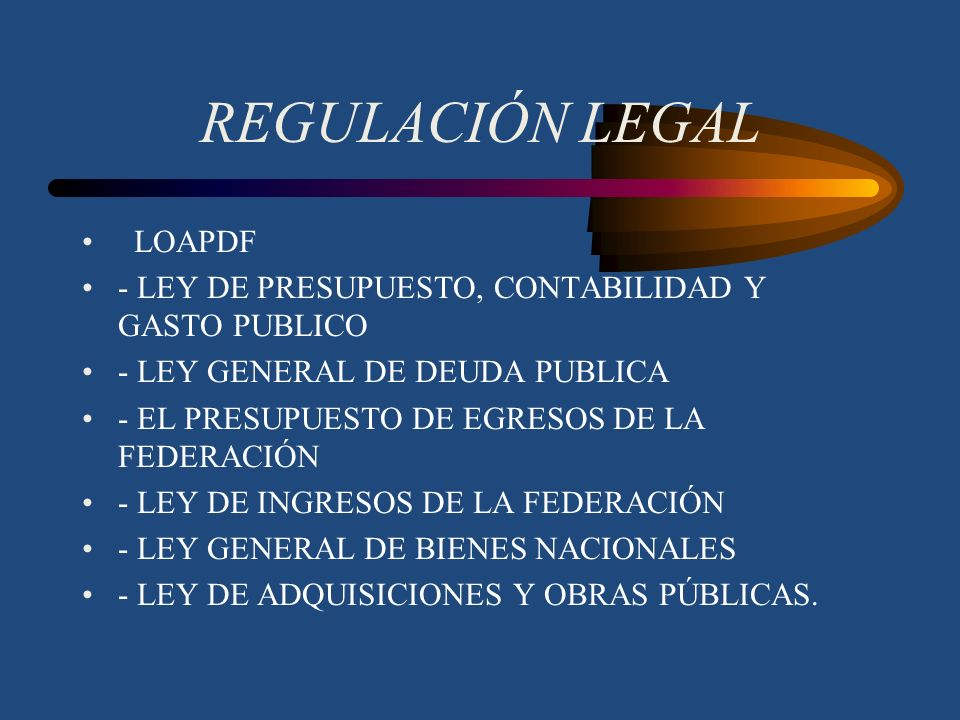 REGULACIÓN LEGAL LOAPDF