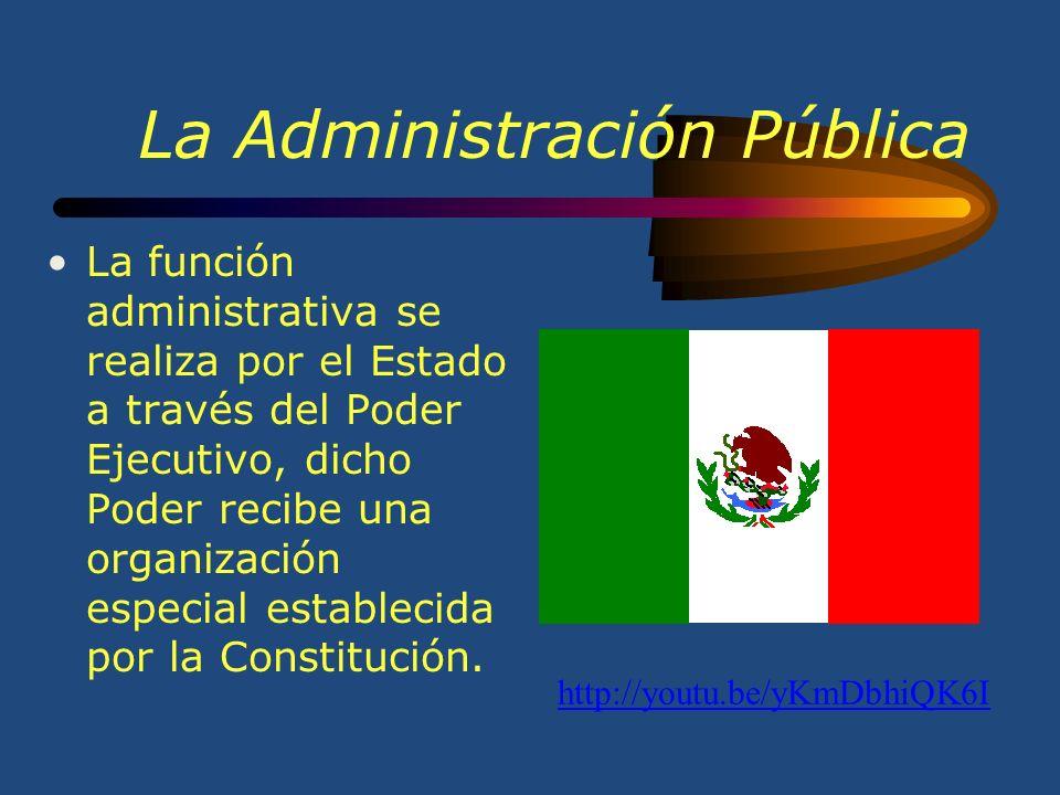 La Administración Pública