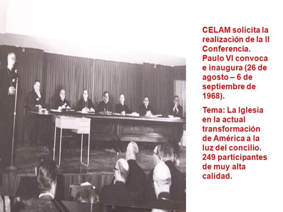 CELAM solicita la realización de la II Conferencia