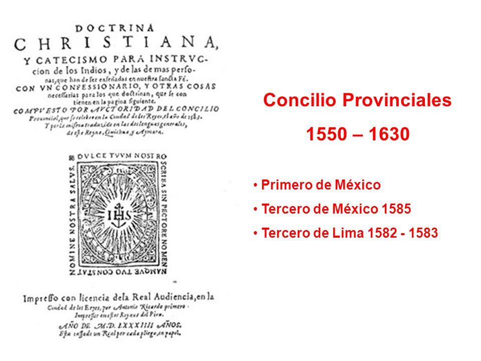 Concilio Provinciales