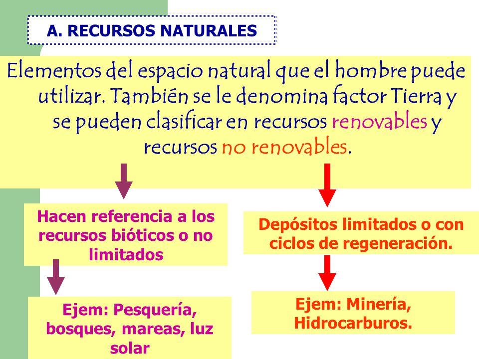A. RECURSOS NATURALES