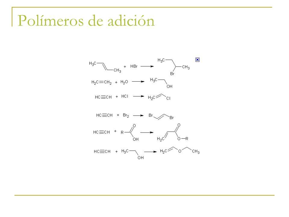 Polímeros de adición