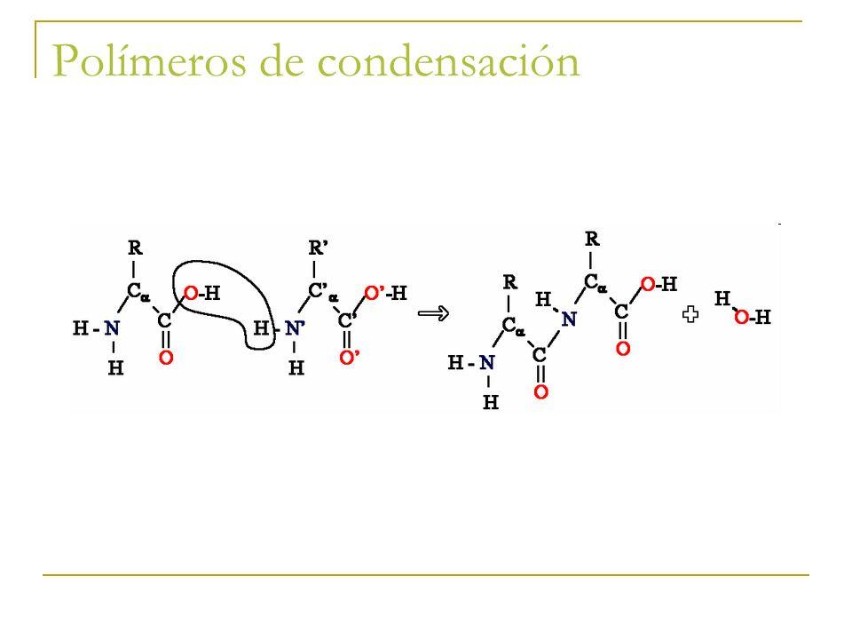 Polímeros de condensación