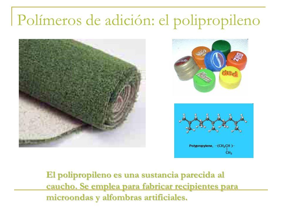 Polímeros de adición: el polipropileno