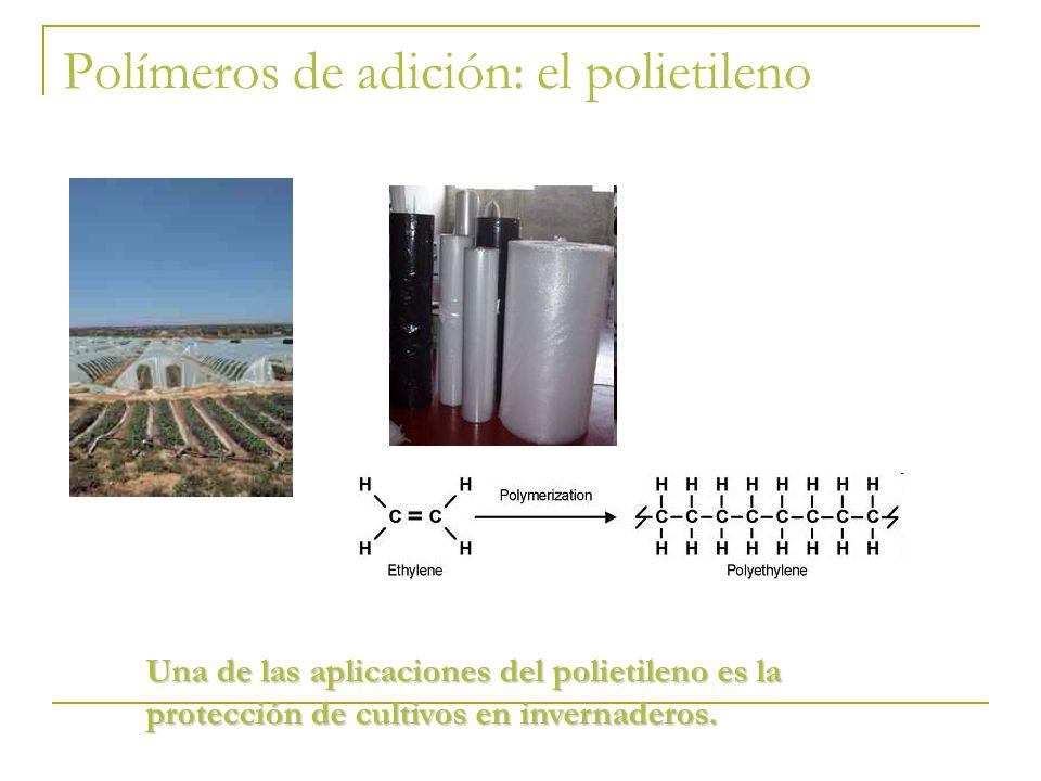 Polímeros de adición: el polietileno