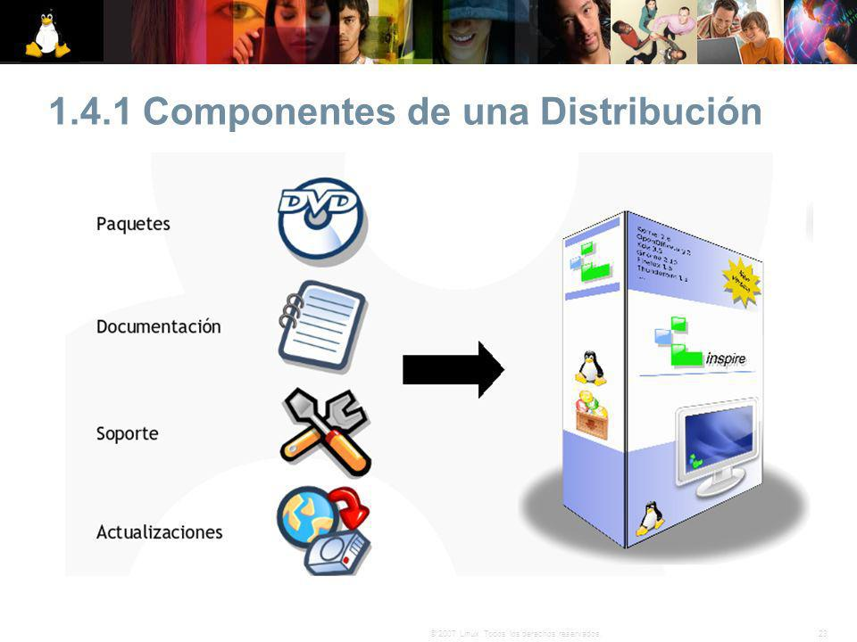 1.4.1 Componentes de una Distribución