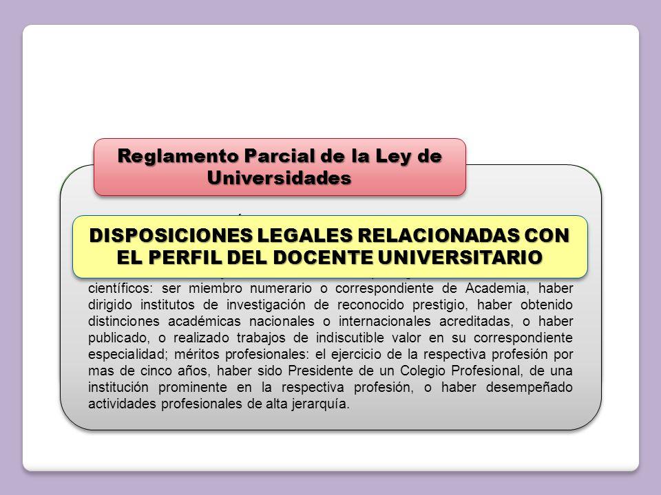 Reglamento Parcial de la Ley de Universidades