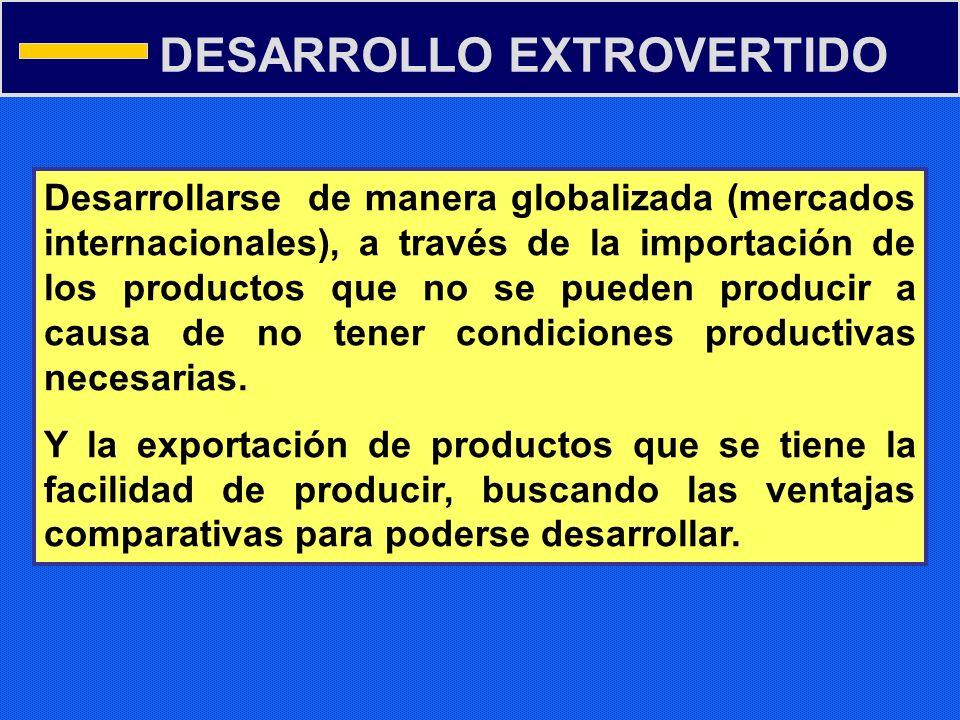 DESARROLLO EXTROVERTIDO