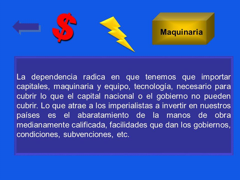 $ Maquinaria.
