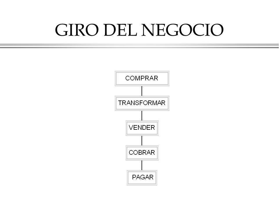 GIRO DEL NEGOCIO