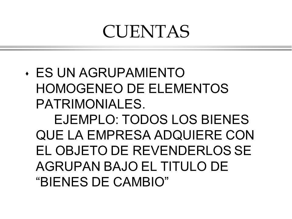 CUENTAS