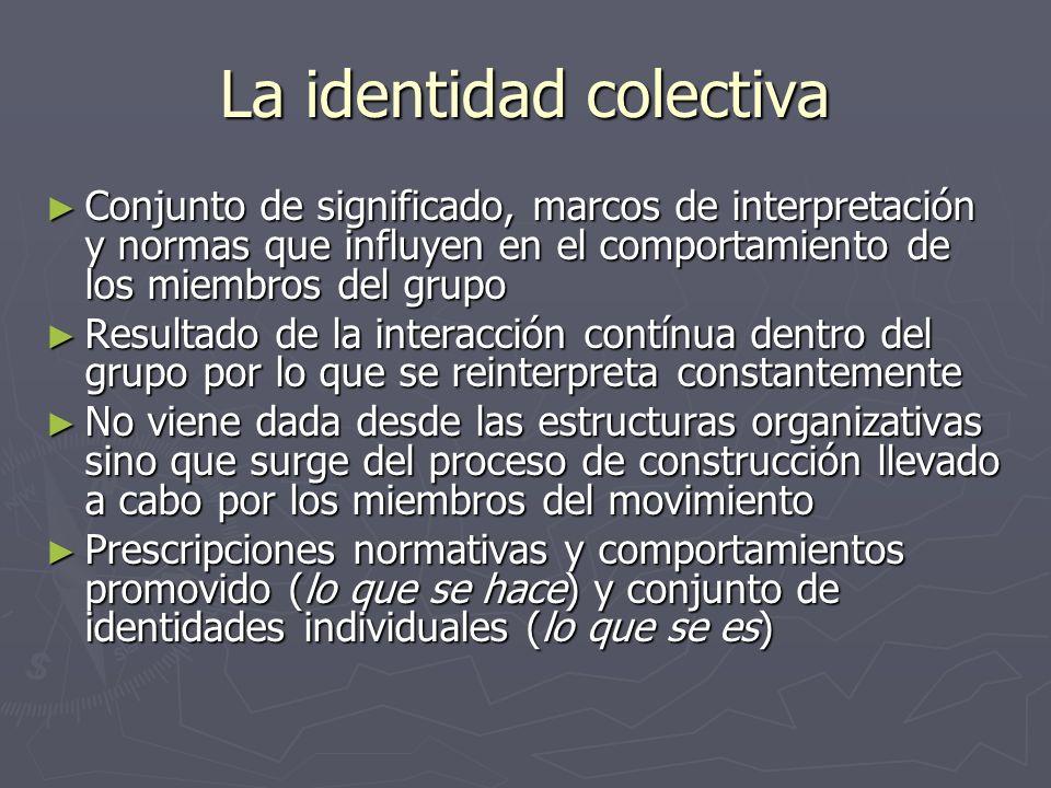 La identidad colectiva