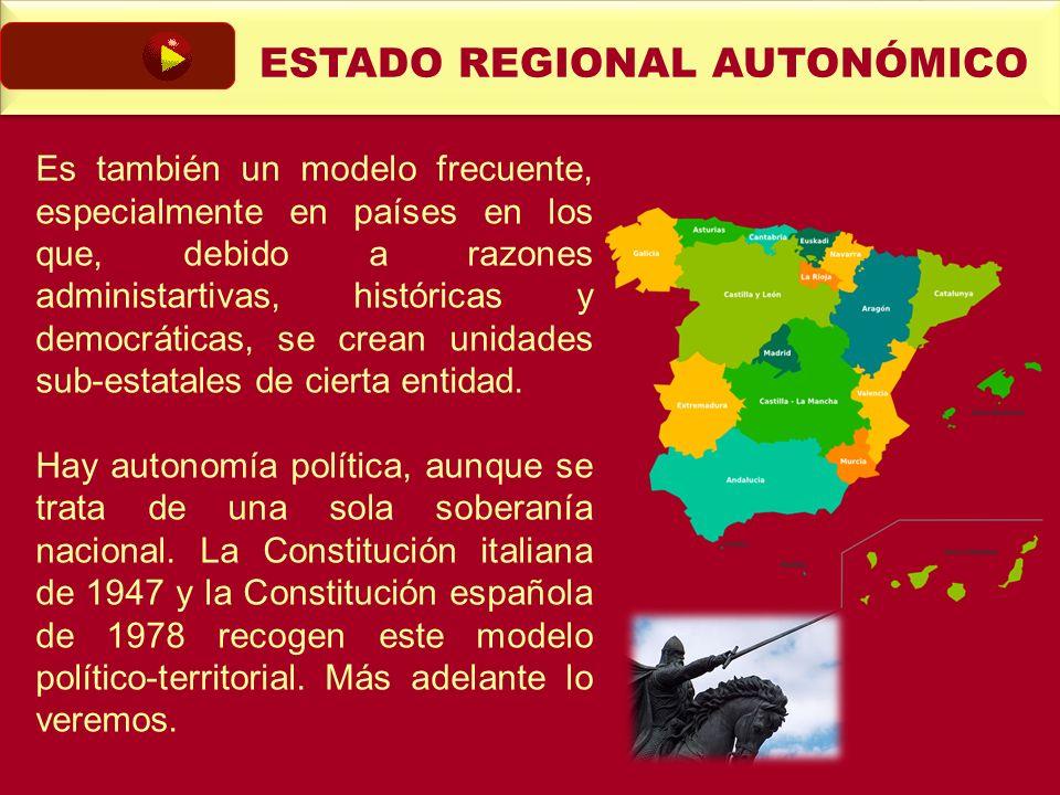 ESTADO REGIONAL AUTONÓMICO