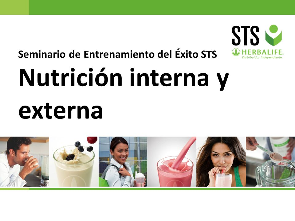 Nutrición interna y externa