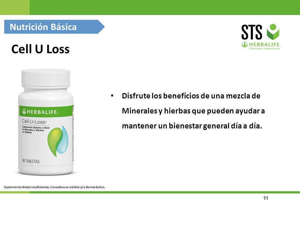 Cell U Loss Nutrición Básica