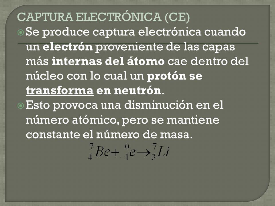 CAPTURA ELECTRÓNICA (CE)