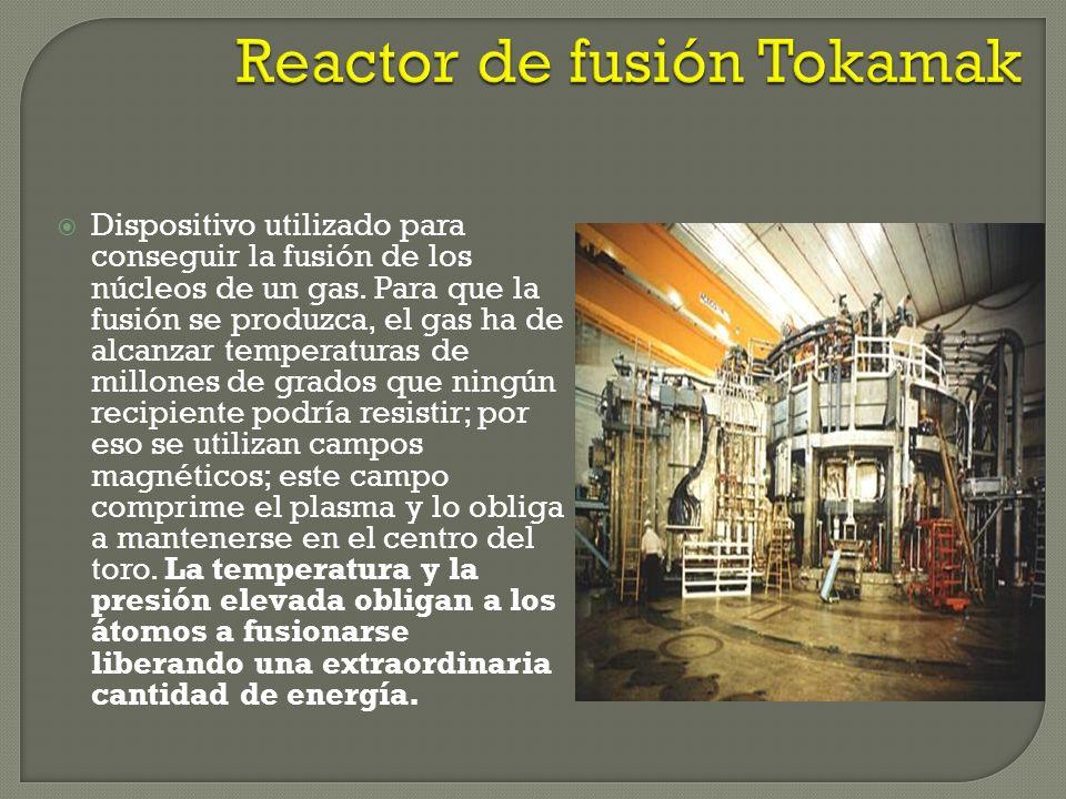 Reactor de fusión Tokamak
