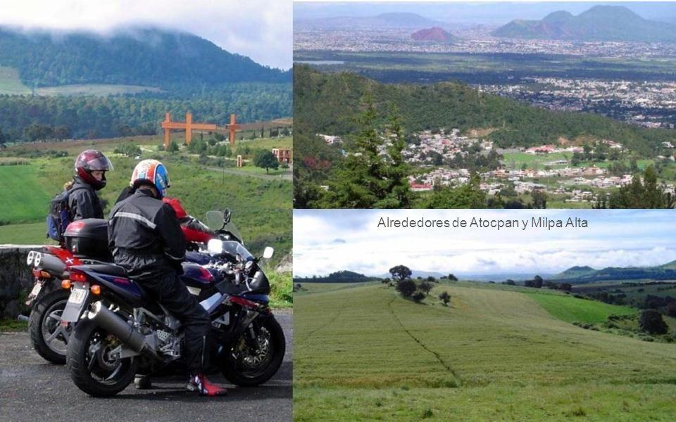 Alrededores de Atocpan y Milpa Alta