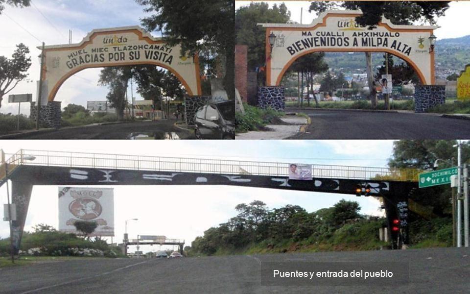 Puentes y entrada del pueblo