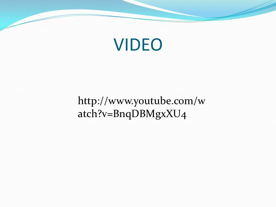 VIDEO http://www.youtube.com/watch v=BnqDBMgxXU4