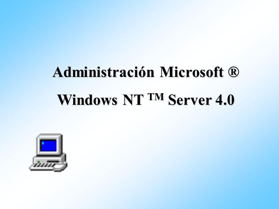 Administración Microsoft ®