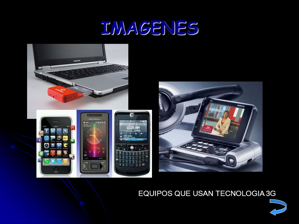 IMAGENES EQUIPOS QUE USAN TECNOLOGIA 3G
