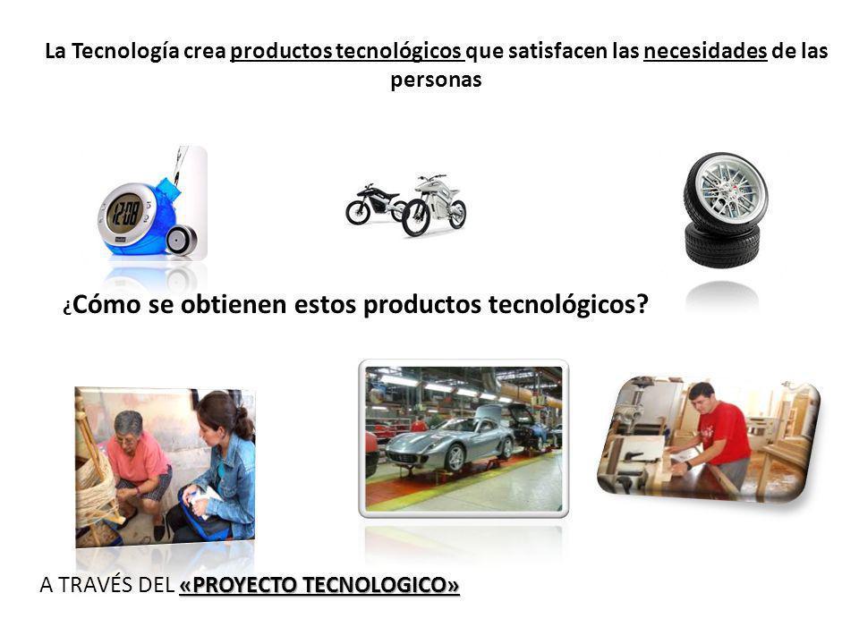 A TRAVÉS DEL «PROYECTO TECNOLOGICO»
