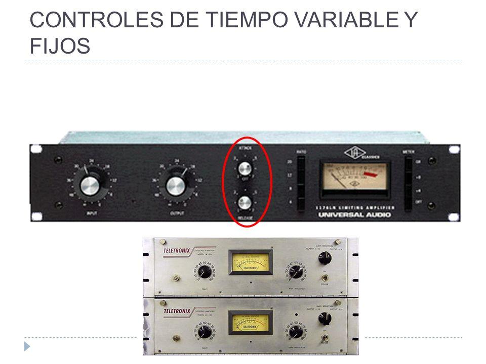 CONTROLES DE TIEMPO VARIABLE Y FIJOS