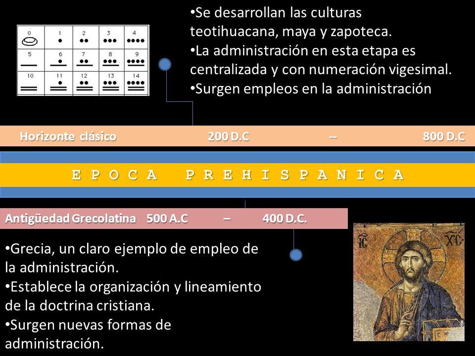 Se desarrollan las culturas teotihuacana, maya y zapoteca.