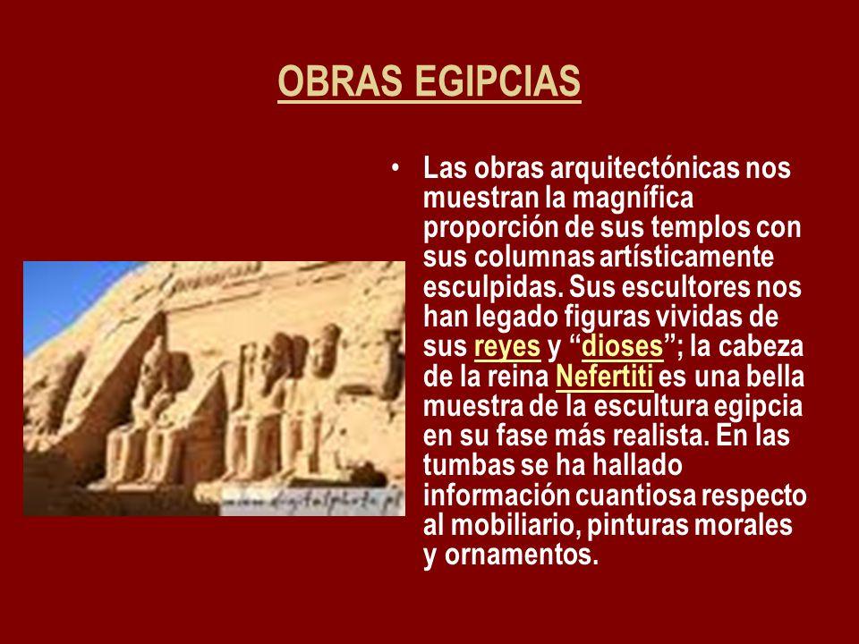 OBRAS EGIPCIAS