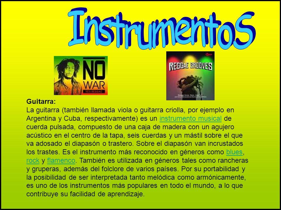 InstrumentoS Guitarra: