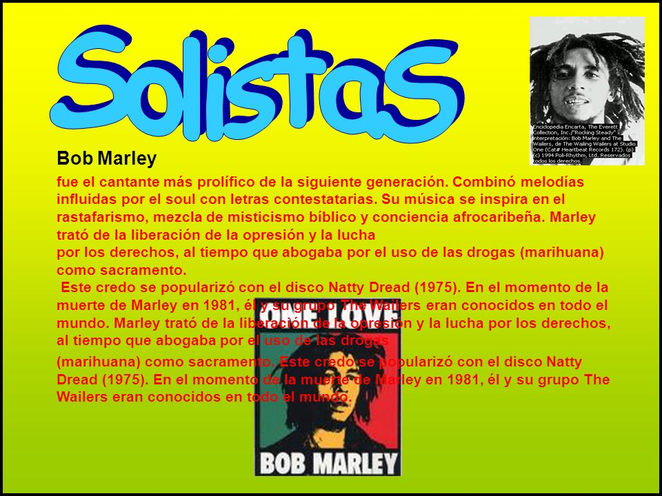 SolistaS Bob Marley.