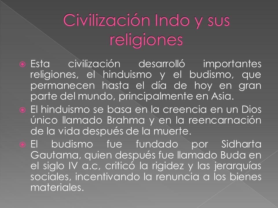 Civilización Indo y sus religiones