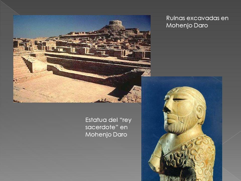 Ruinas excavadas en Mohenjo Daro