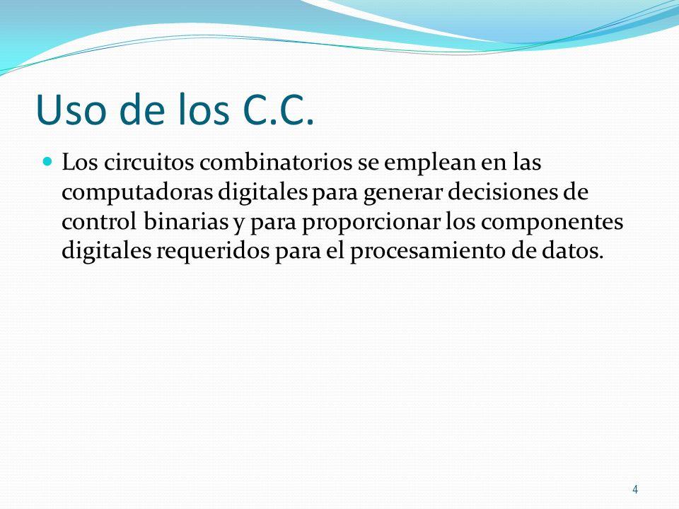 Uso de los C.C.