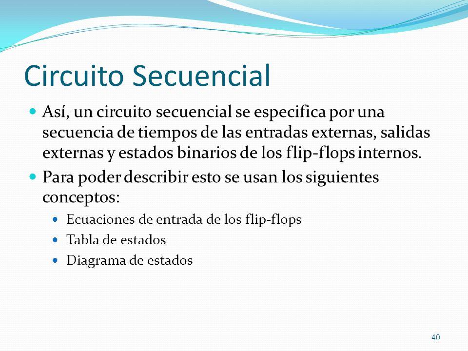 Circuito Secuencial