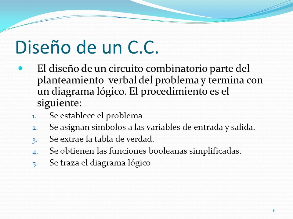 Diseño de un C.C.