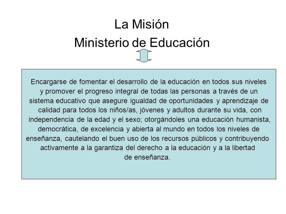 La Misión Ministerio de Educación